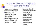 phases of 3 rd world development theory and practice1