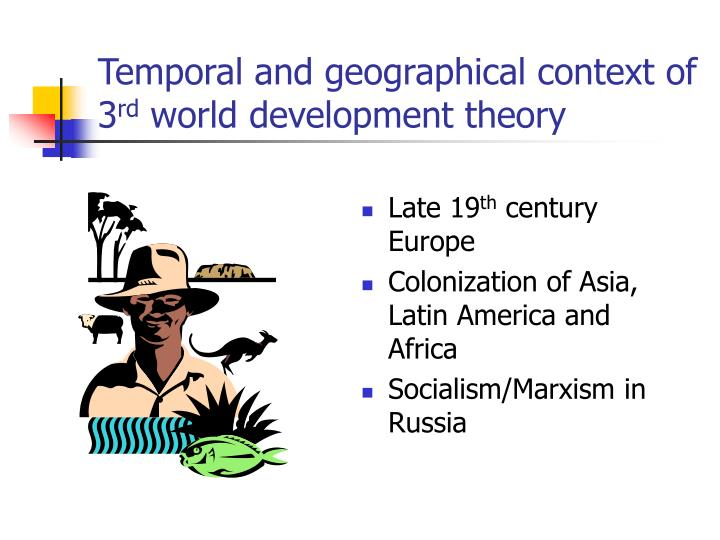 Temporal and geographical context of 3