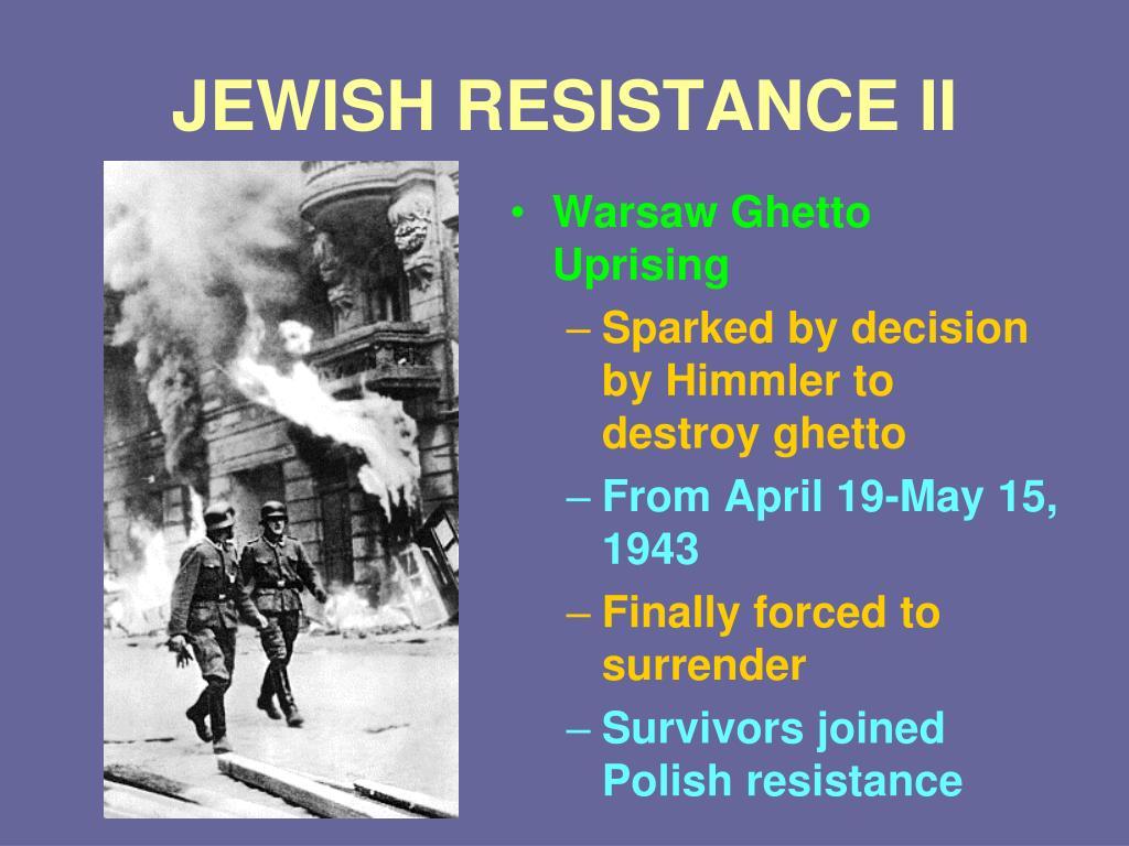 JEWISH RESISTANCE II