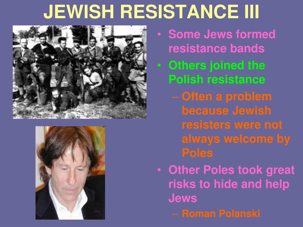JEWISH RESISTANCE III