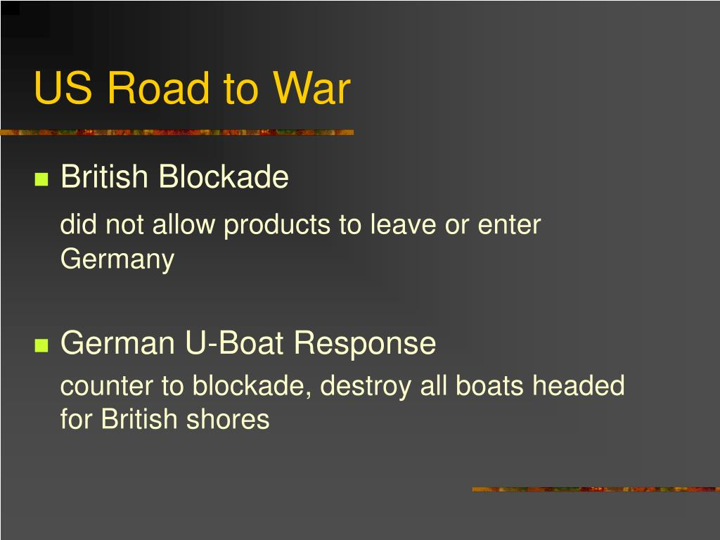 US Road to War