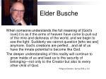 elder busche