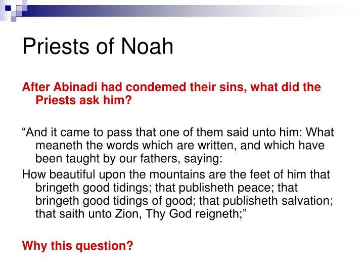 Priests of Noah