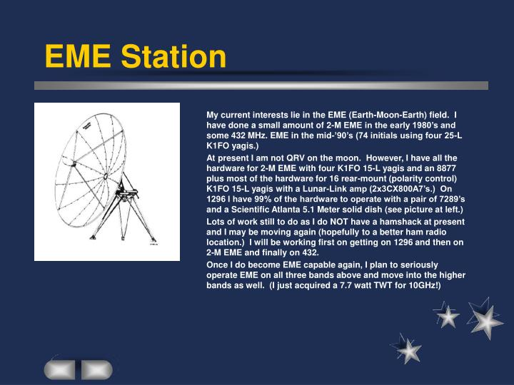 EME Station