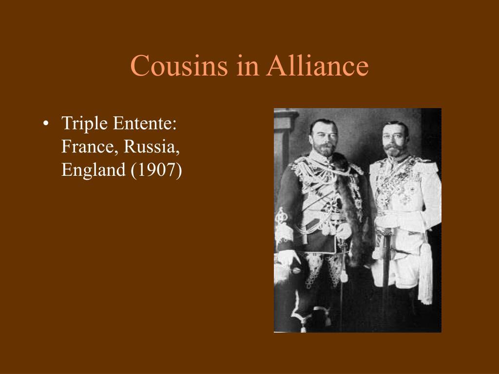 Cousins in Alliance