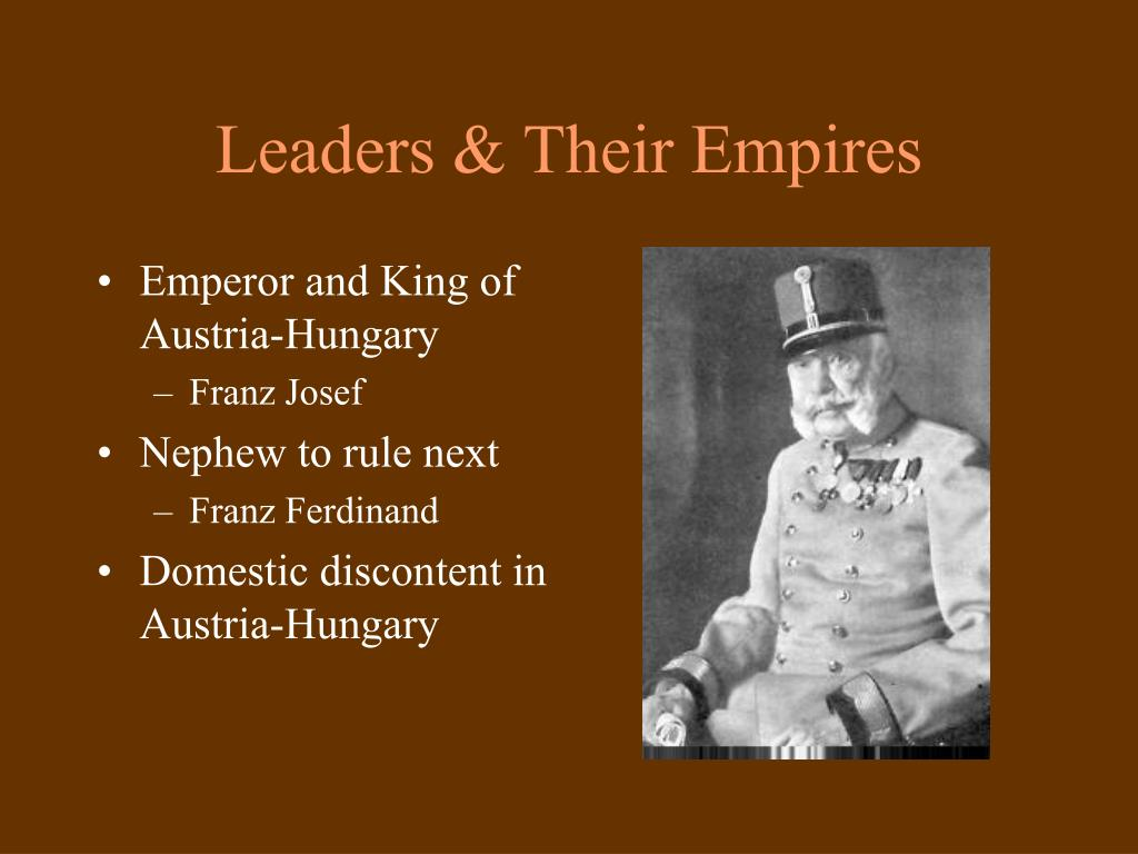 Leaders & Their Empires