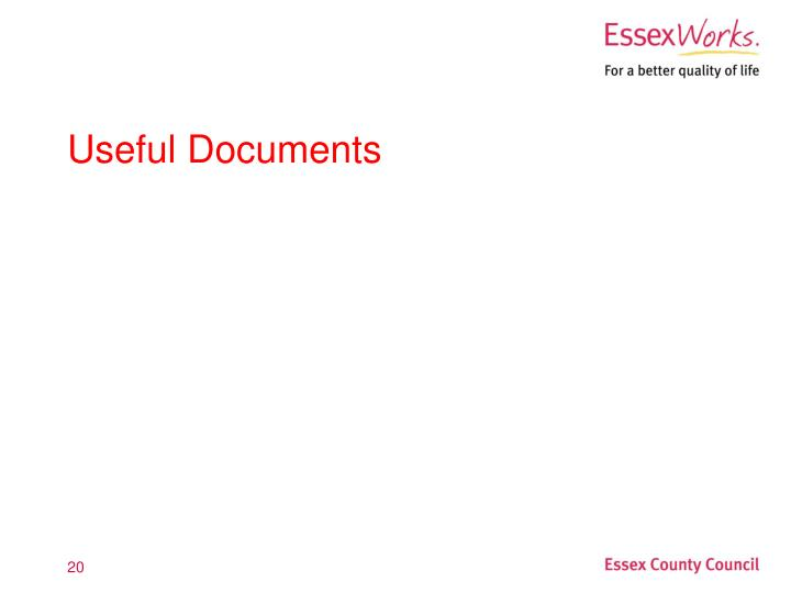 Useful Documents