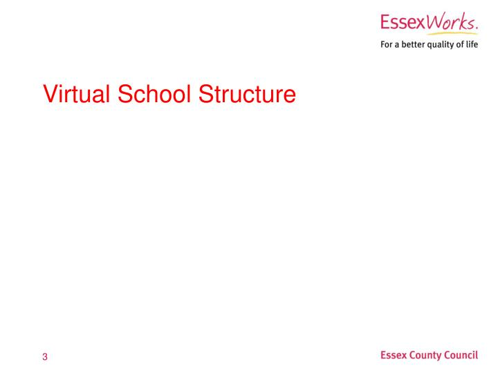 Virtual school structure