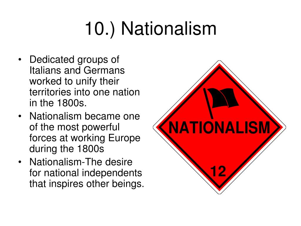 Dedicated groups of Italians and Germans worked to unify their territories into one nation in the 1800s.