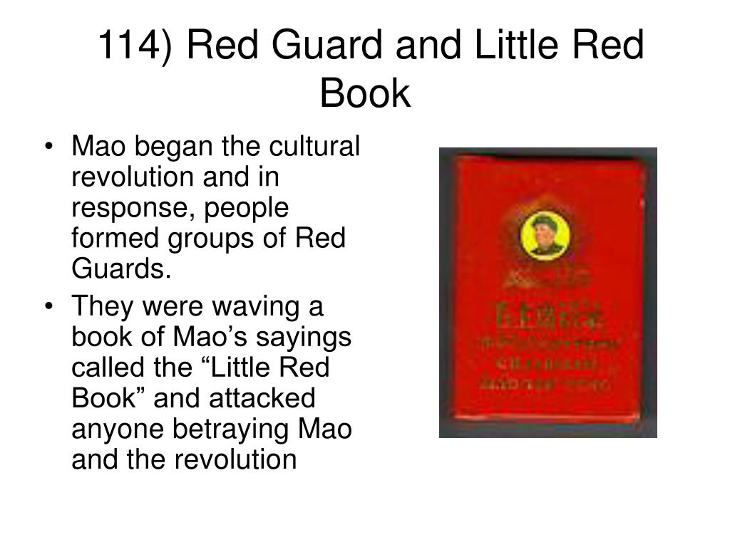 114) Red Guard and Little Red Book