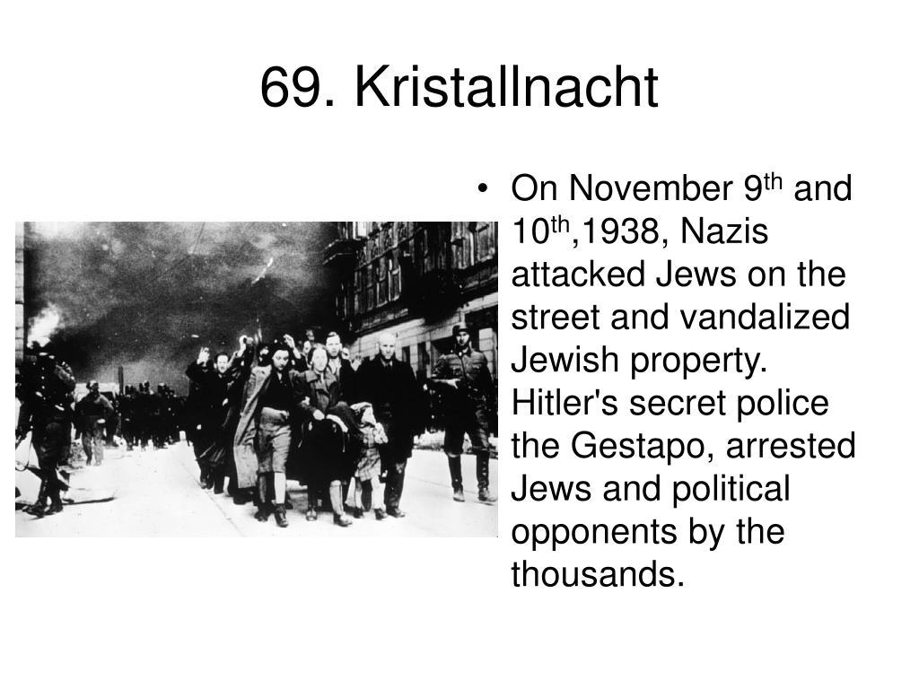 69. Kristallnacht