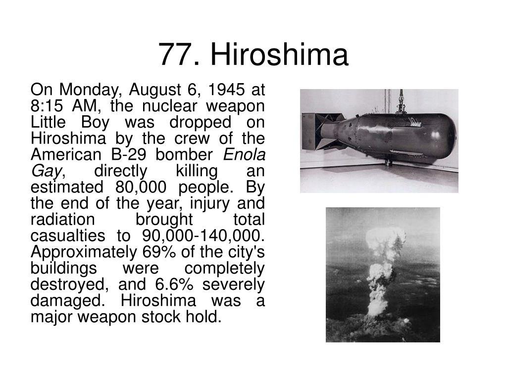77. Hiroshima