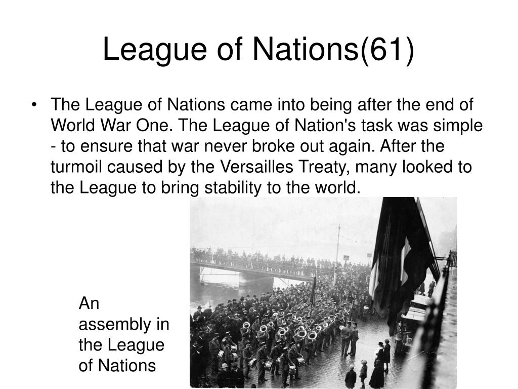 League of Nations(61)