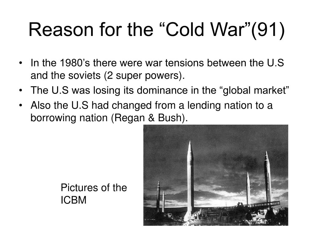 "Reason for the ""Cold War""(91)"