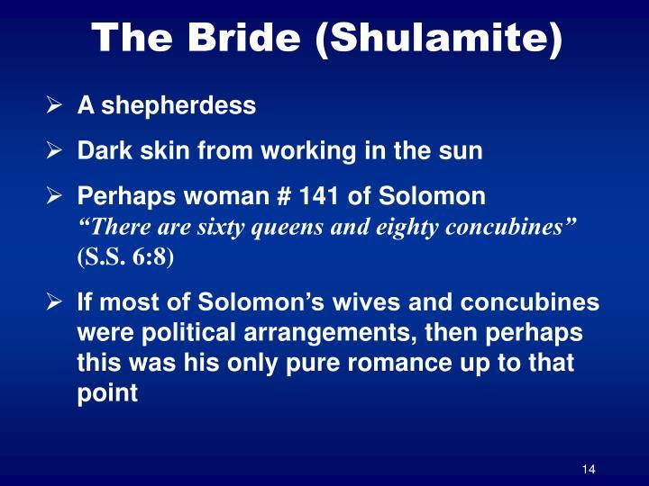 The Bride (Shulamite)