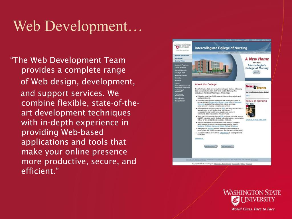 Web Development…