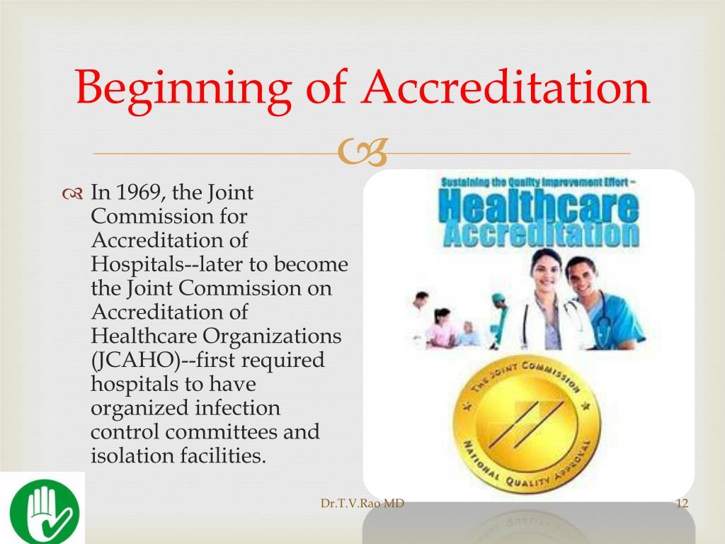 Beginning of Accreditation