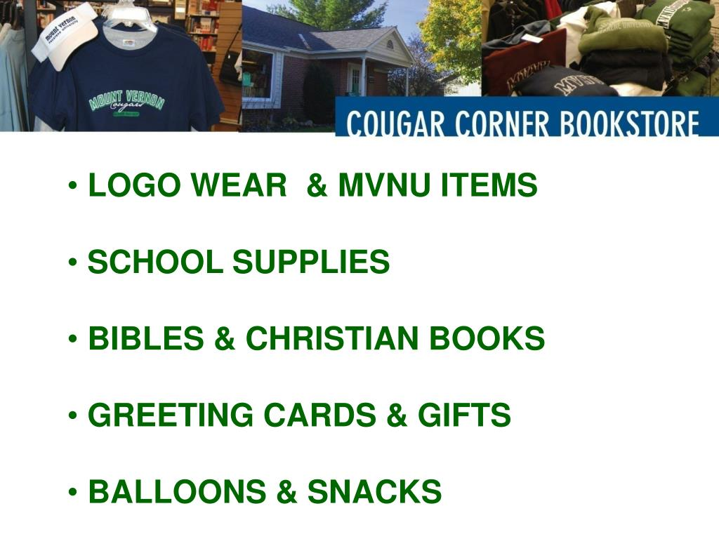LOGO WEAR  & MVNU ITEMS