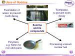 uses of fluorine