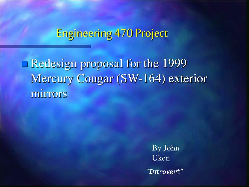Engineering 470 Project