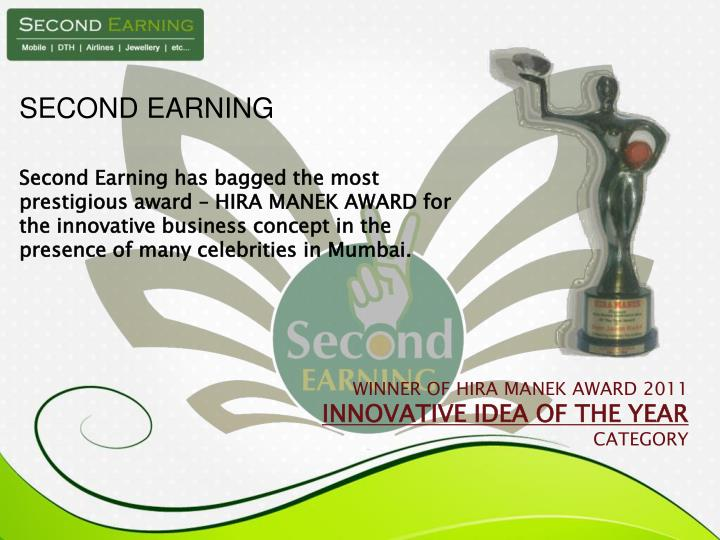 SECOND EARNING