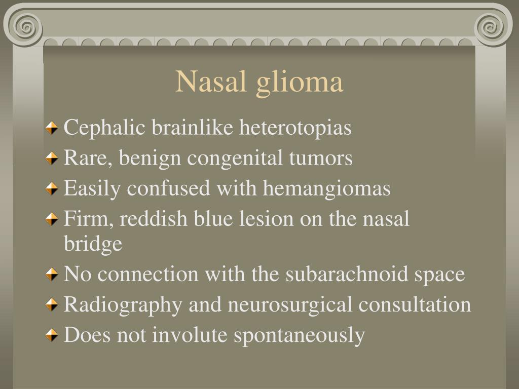 Nasal glioma