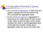 5 2 aggregation processing in queries