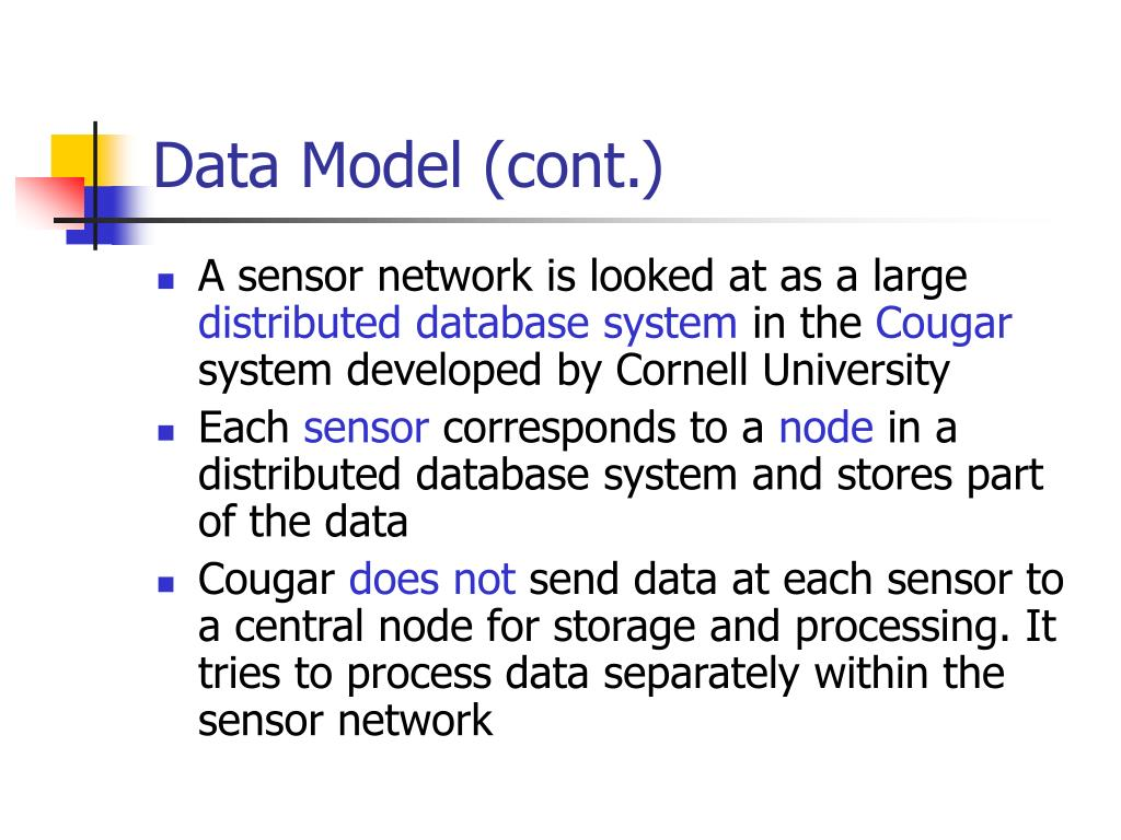 Data Model (cont.)