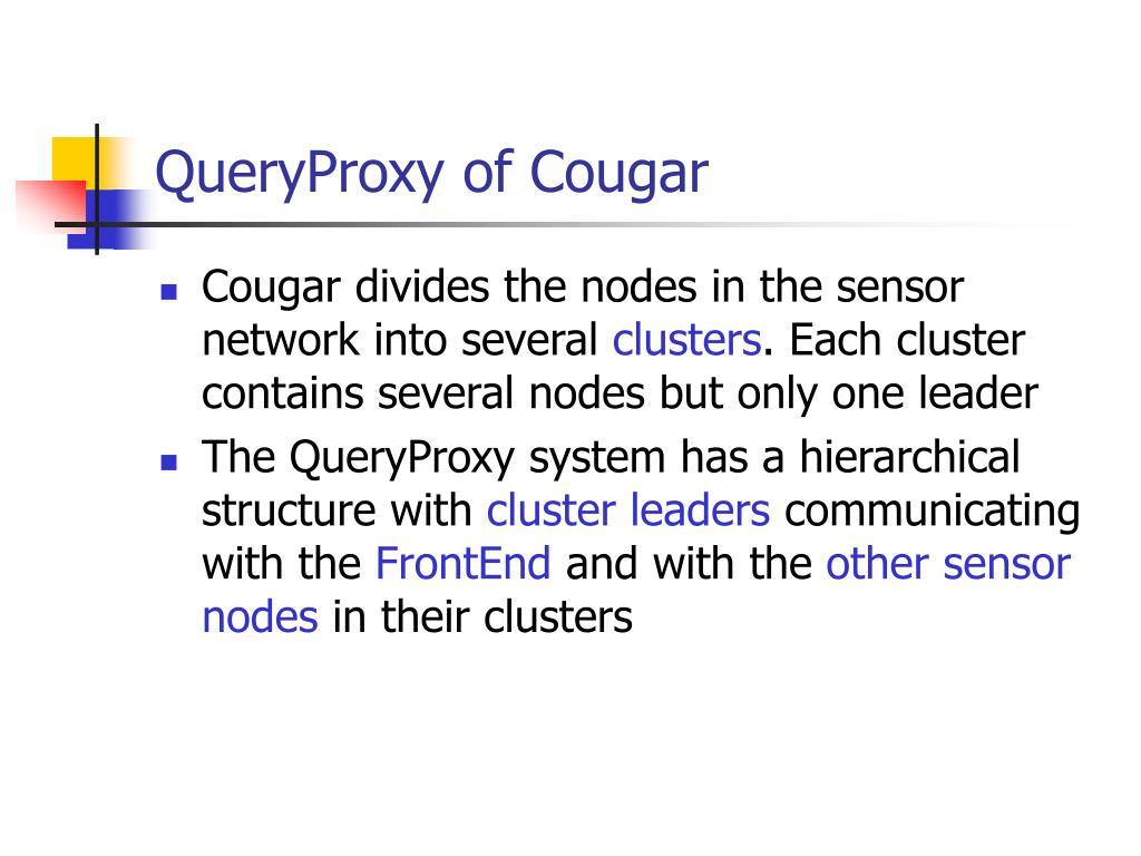 QueryProxy of Cougar