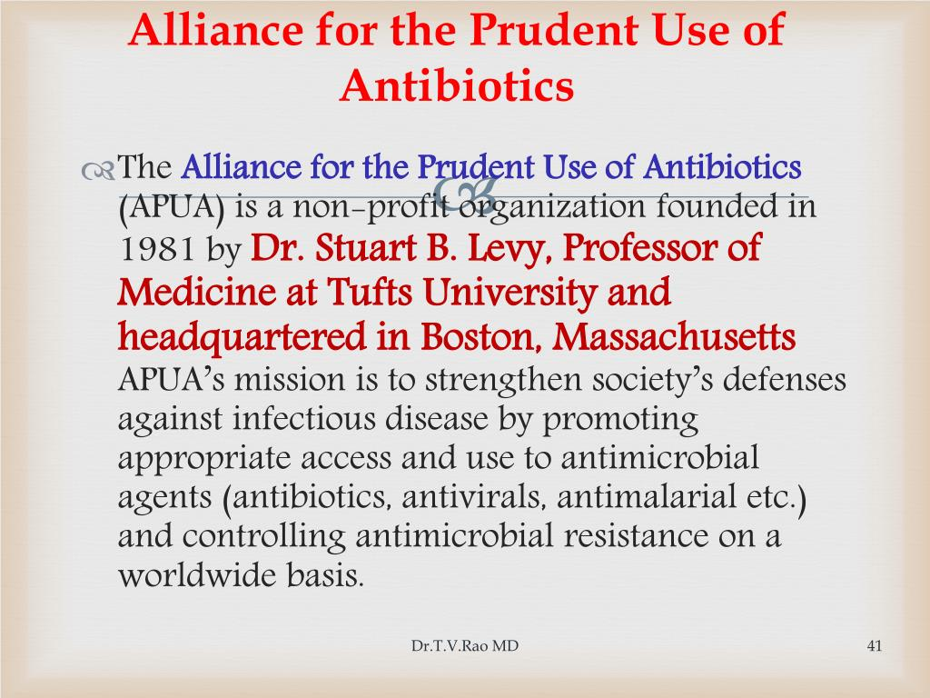 Alliance for the Prudent Use of Antibiotics