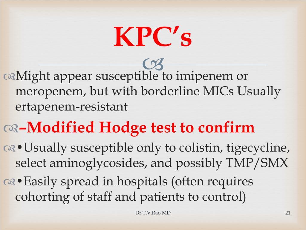 KPC's