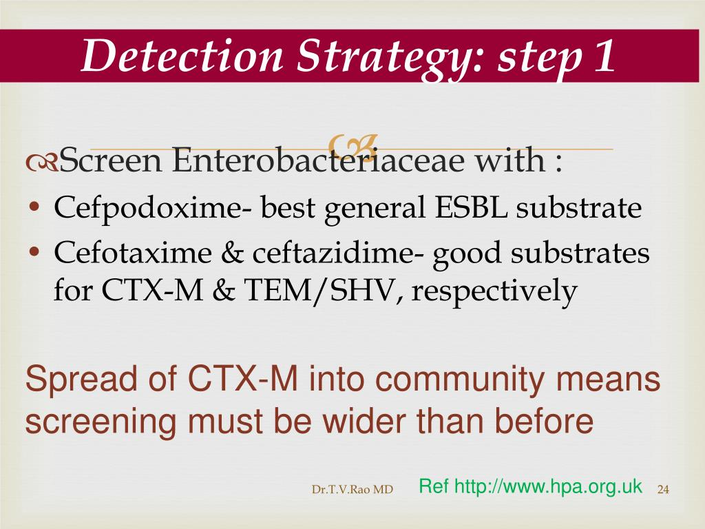 Detection Strategy: step 1