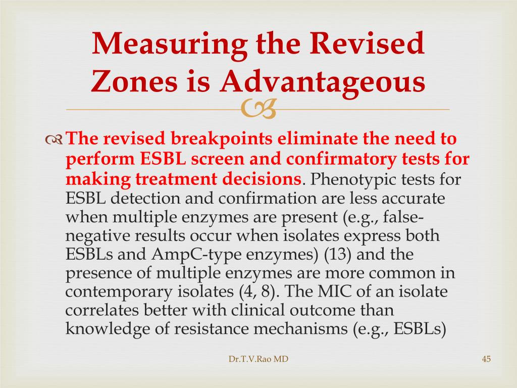 Measuring the Revised Zones is Advantageous