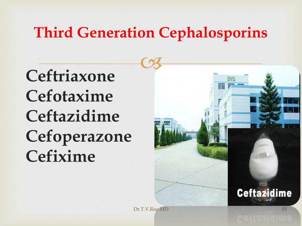 Third Generation Cephalosporins
