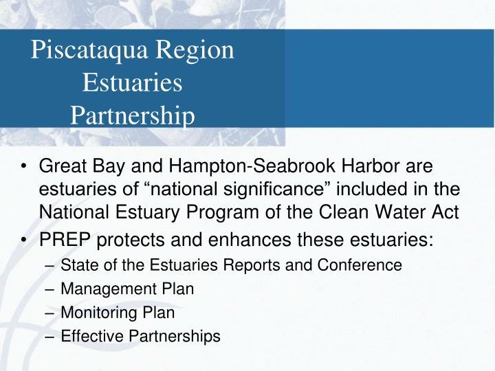 Piscataqua Region Estuaries Partnership