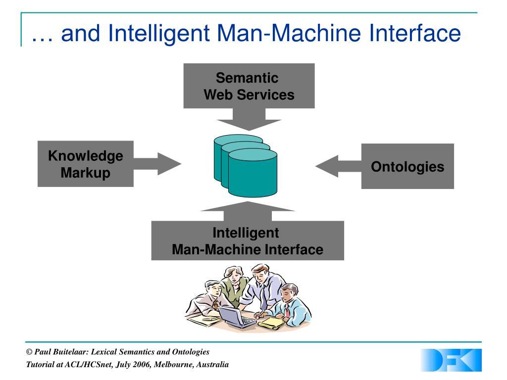 … and Intelligent Man-Machine Interface