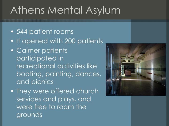 Athens Mental Asylum