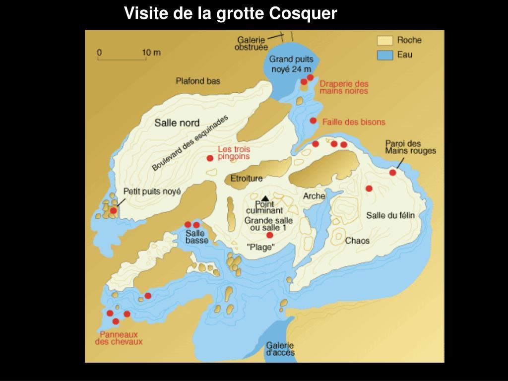 Visite de la grotte Cosquer