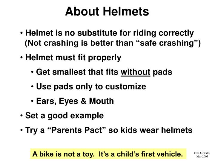 About Helmets