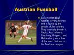 austrian fussball
