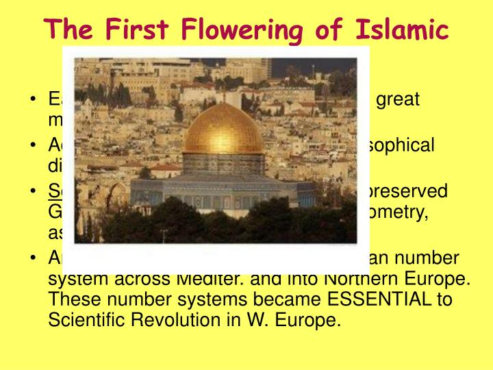 The First Flowering of Islamic Learning