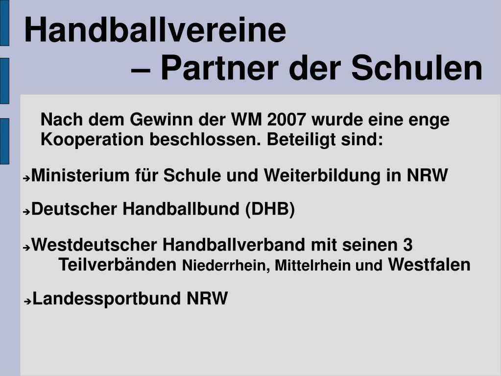 Handballvereine
