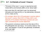 6 7 6 9 details of level 1 course