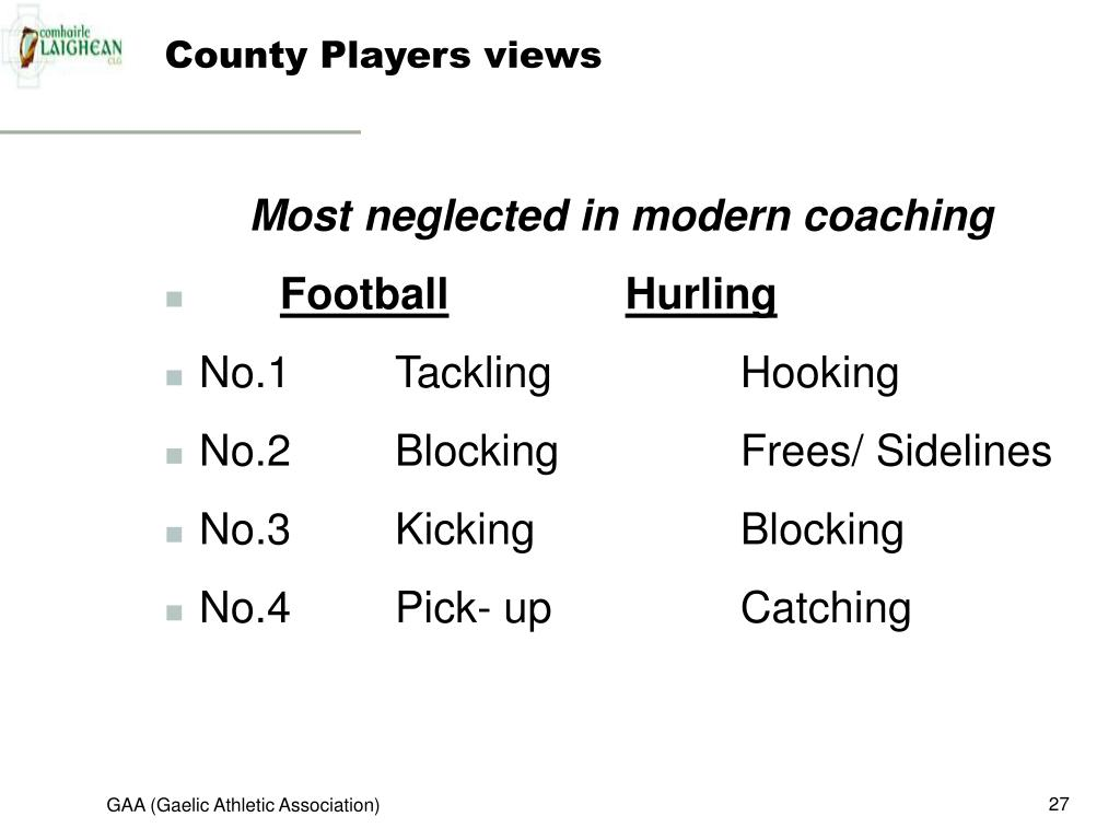 County Players views