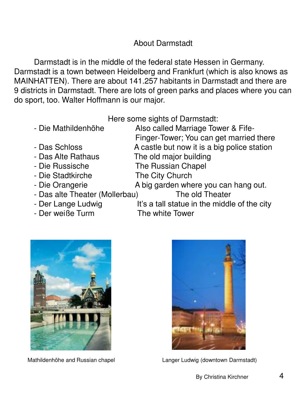 About Darmstadt