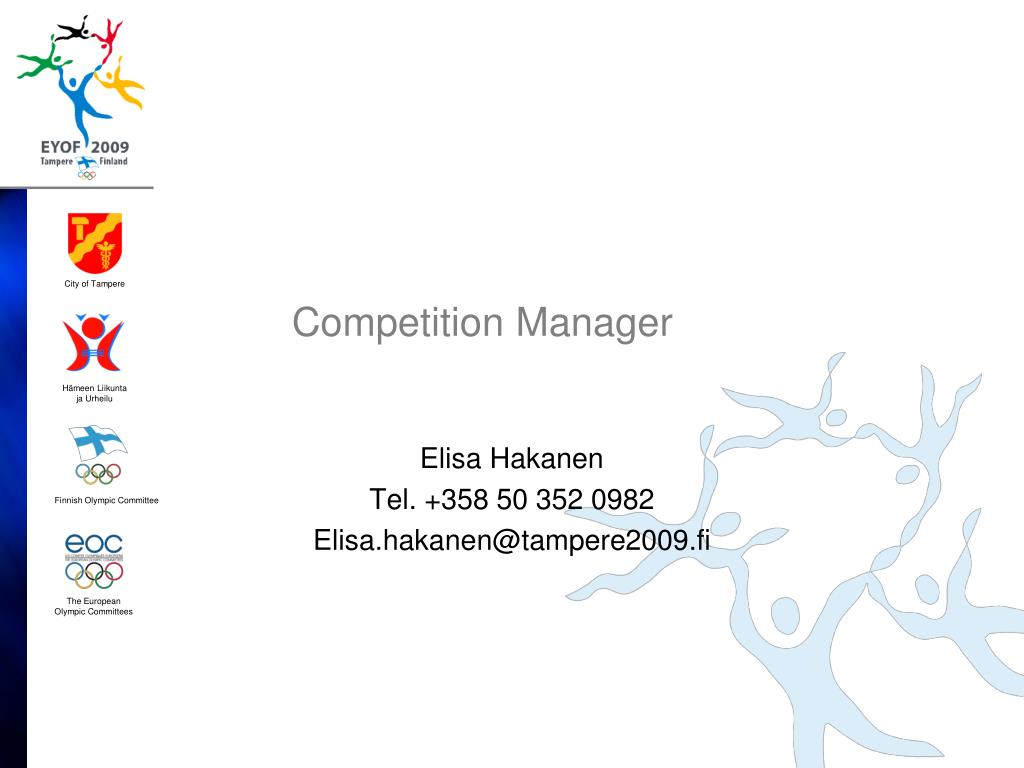 Competition Manager