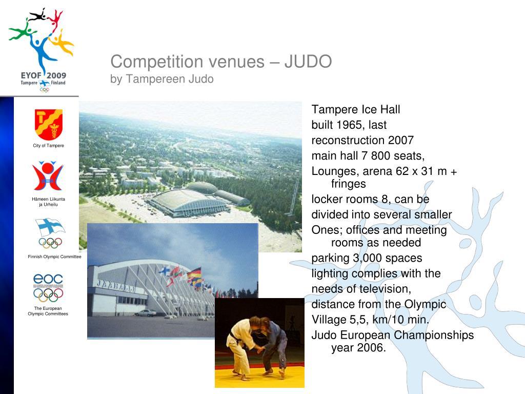 Competition venues – JUDO