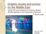 graphic novels and comics on the middle east