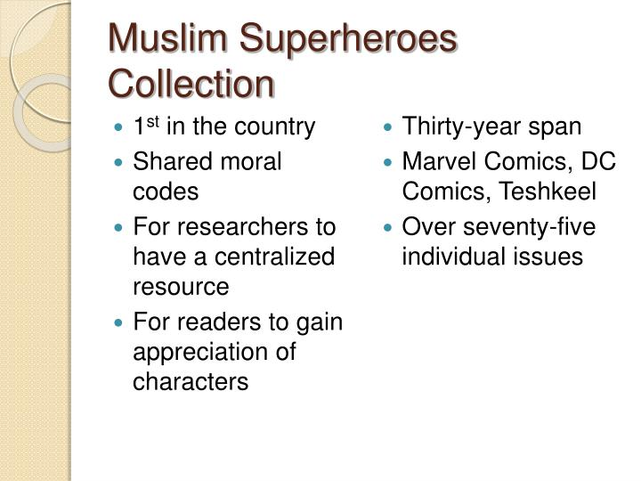 Muslim Superheroes Collection