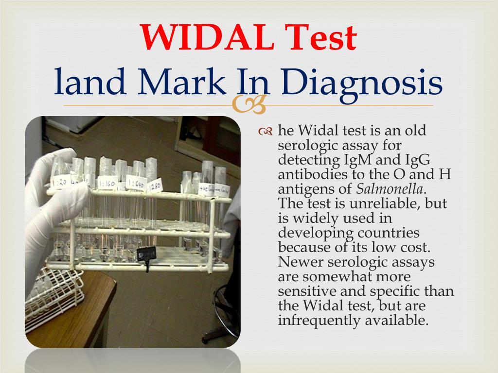 WIDAL Test
